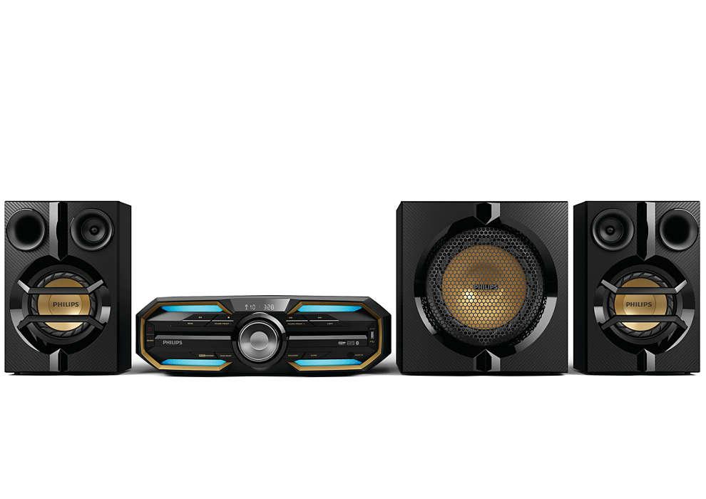 Mega sound goes wireless