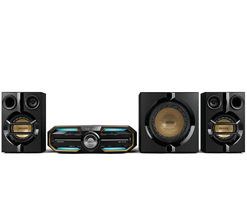 f83b3121d89f Mini HiFi systém FX55 12