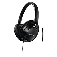 FX5MBK/00 -    Headphones with mic