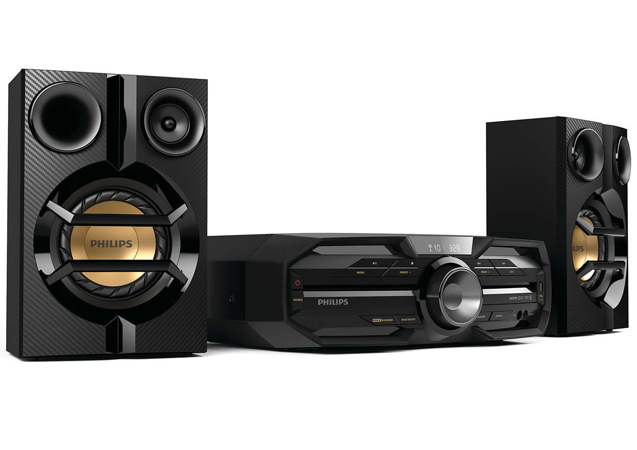 Mini Hi Fi System Fxd1898 Philips