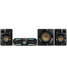 FXD58/98  DVD Mini Hi-Fi System