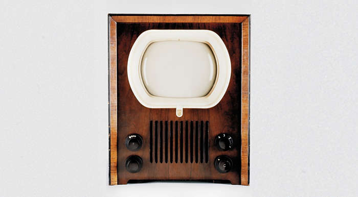 First Philips TV, 1950