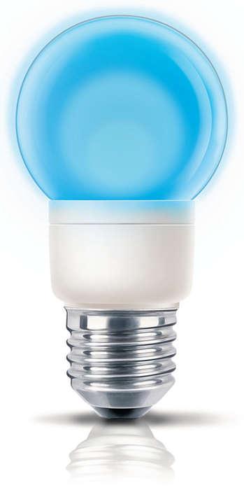 Hravé barevné světlo