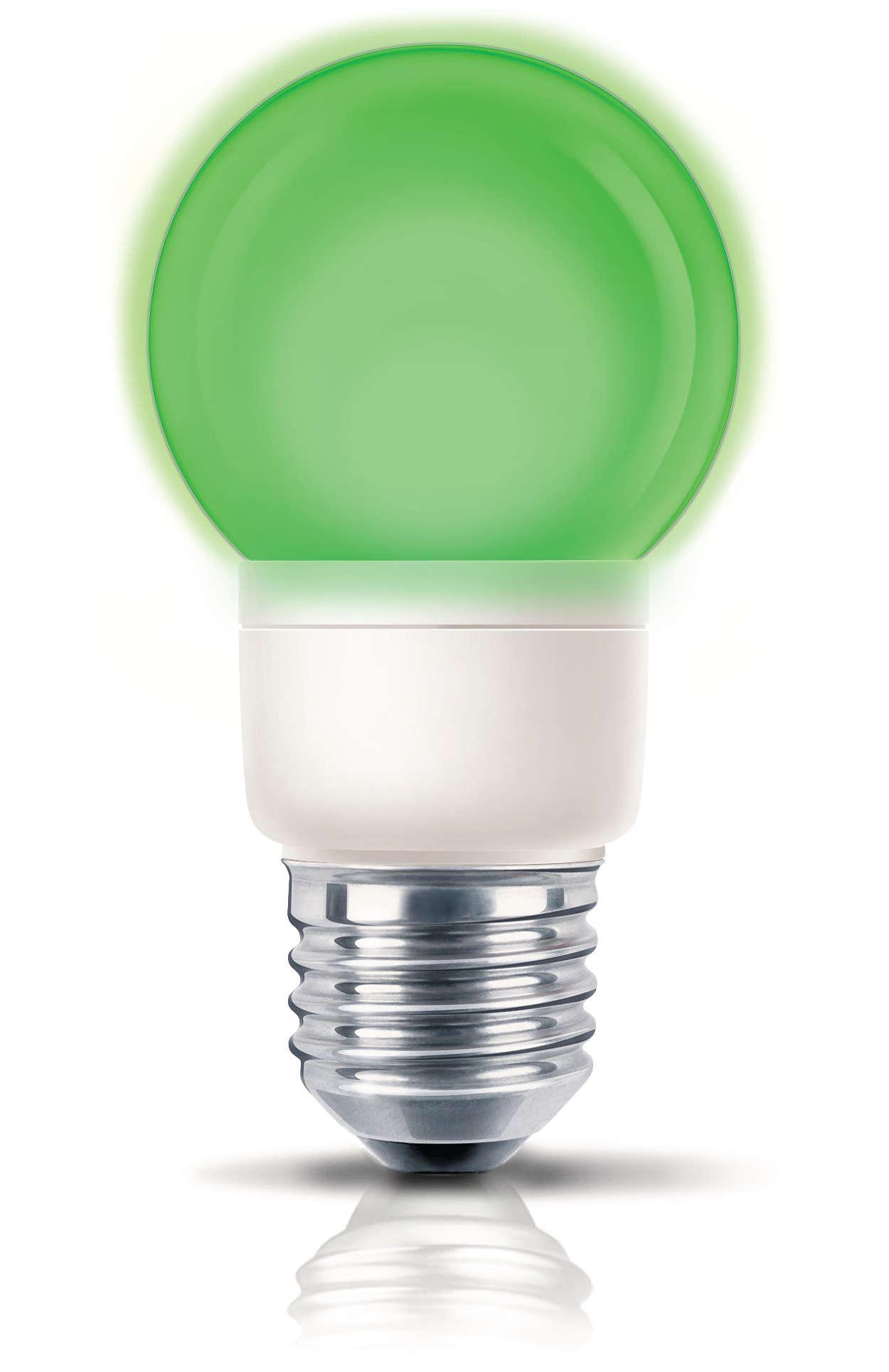 Leikkisä värillinen valo