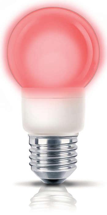 Закачлива цветна светлина