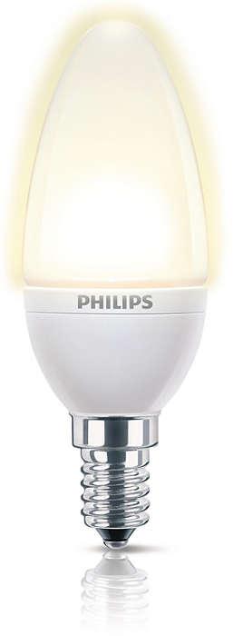 Pålideligt, dekorativt lys