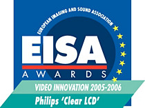 EISA-videopalkinto: Philips ClearLCD