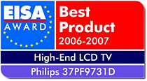 EISA European Highend LCD TV of the Year