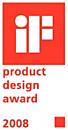 iF formatervezési díj 2008