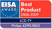 EISA europeisk LCD-TV 2008/2009
