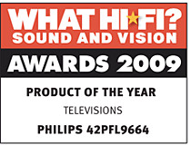 Premios audiovisuales What Hi Fi? Sound & Vision Awards 2009