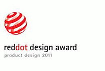 Red dot award design logo