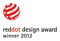 Vencedor do prémio de design red dot de 2012