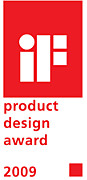 """iF Product Design Award 2009"""