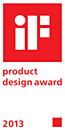 iF-produktdesignpris 2013