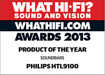 Nagroda What Hi-Fi Sound and Vision za rok 2013