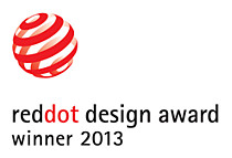 Vencedor do prémio de design red dot de 2013