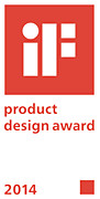 iF Product Design Award 2014 -muotoilupalkinto