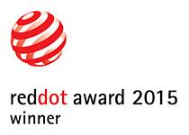 Winnaar van de RedDot design award 2015