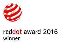2016 年レッド・ドット・デザイン賞:受賞