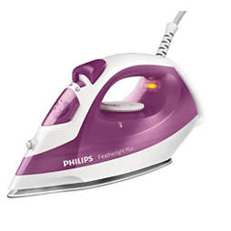 Featherlight Plus Steam iron with non-stick soleplate