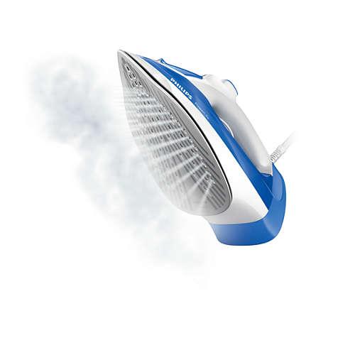 Fer vapeur, 2300W, débit de vapeur continu 40g/min