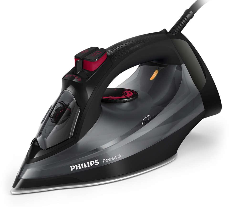 Philipsin testivoittajan korvaava höyrysilitysrauta