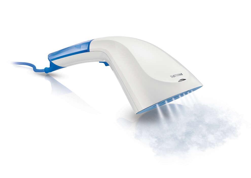 Élimination rapide des faux plis en un tour de main