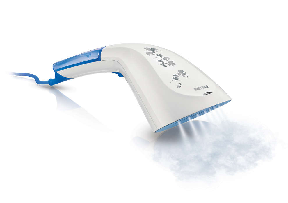 Quick crease removal at the touch of your hand