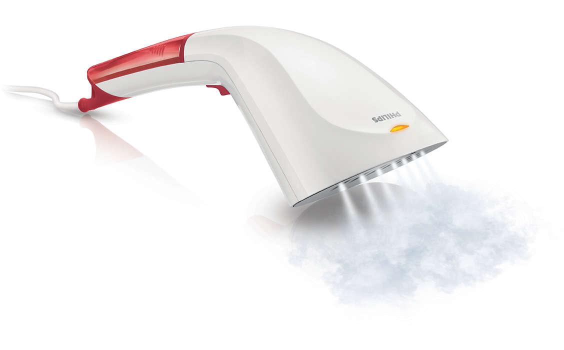 Schnelles Glätten mit Dampf