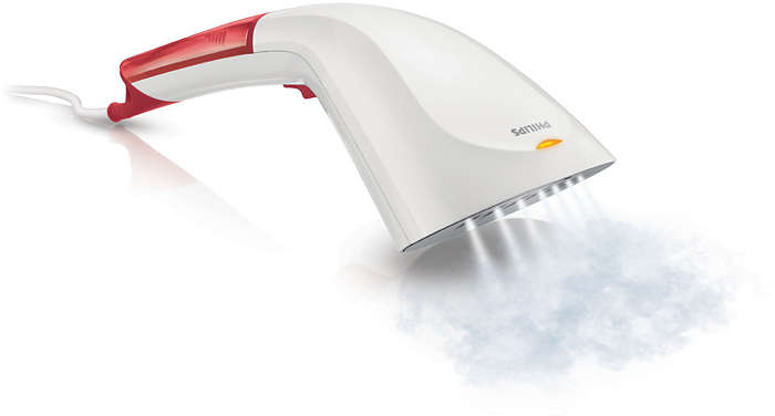 Quick crease removal with the power of steam