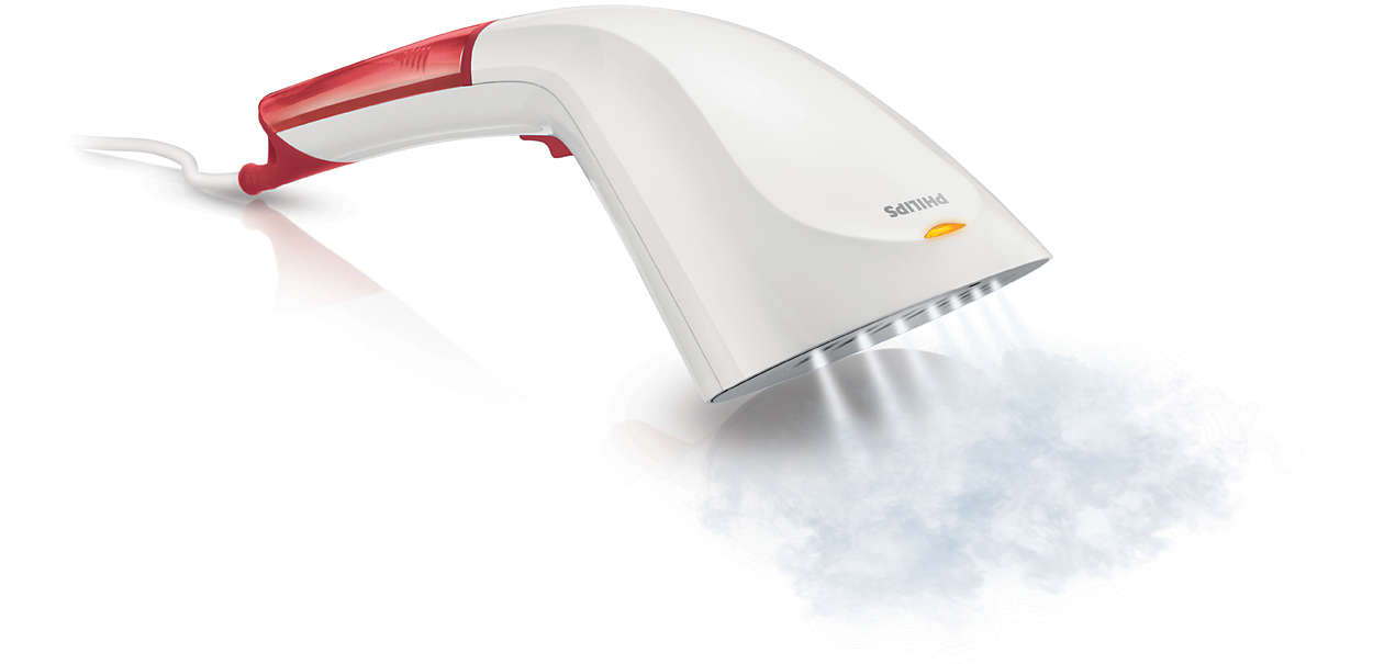 Élimination rapide des faux plis grâce à la vapeur