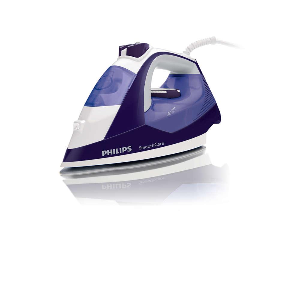 Less refilling for longer ironing sessions