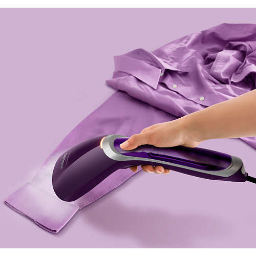 Vaporizador de prendas manual