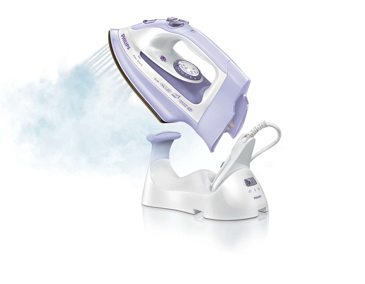Cordless Steam Iron ~ Azur in cordless steam iron gc philips