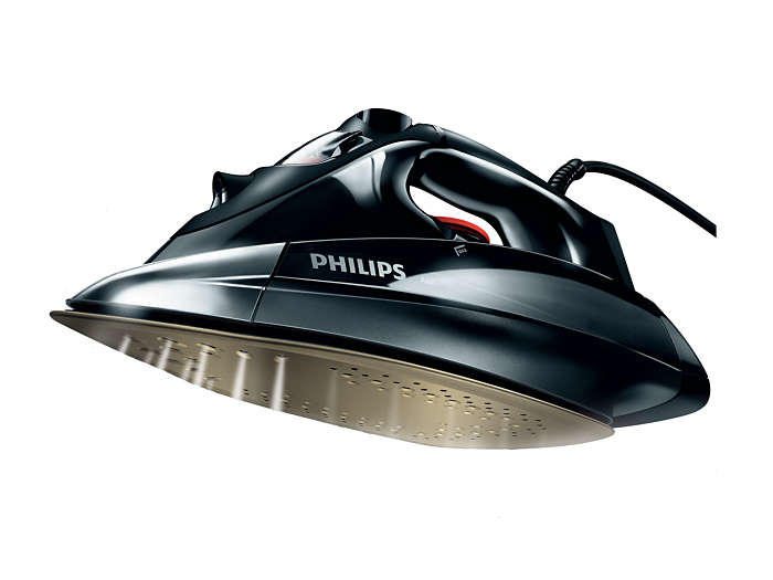 how to clean philips azur steam iron