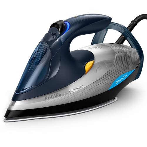 Azur Advanced Ferro da stiro con tecnologia OptimalTEMP