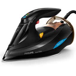 Azur Elite Ferro a vapor com tecnologia OptimalTEMP