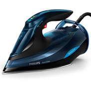 Azur Elite 采用 OptimalTEMP 智能温控科技的蒸汽电熨斗