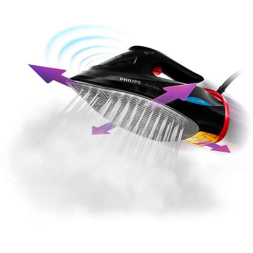 Azur Elite Stoomstrijkijzer met OptimalTEMP-technologie