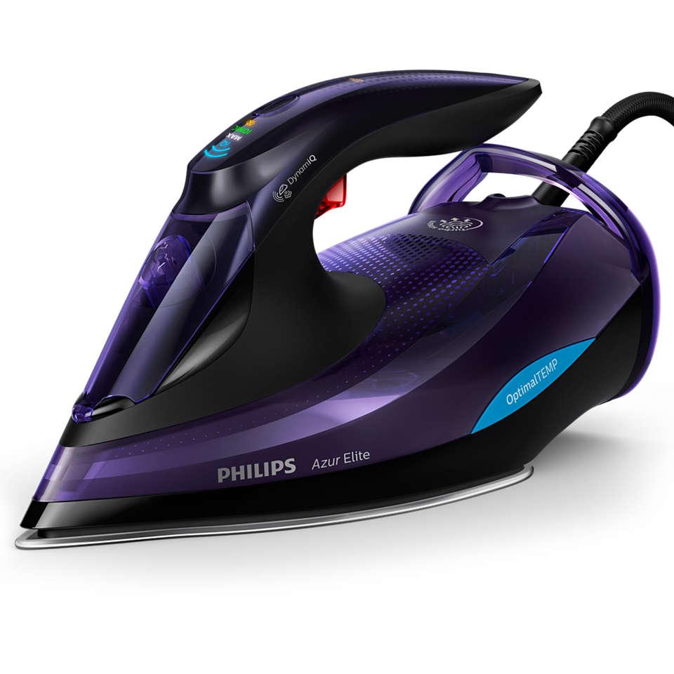 Azur Elite Bàn ủi hơi nước Cảm biến hơi phun tự động DynamiQ