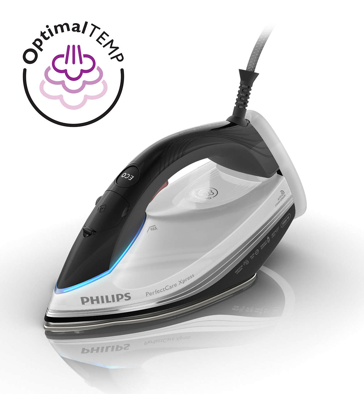 perfectcare xpress pressurised steam iron gc5060 02 philips. Black Bedroom Furniture Sets. Home Design Ideas