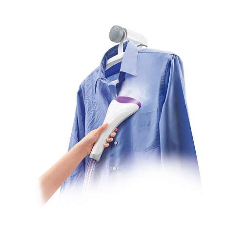 ClearTouch Aparat de călcat vertical cu abur pentru haine
