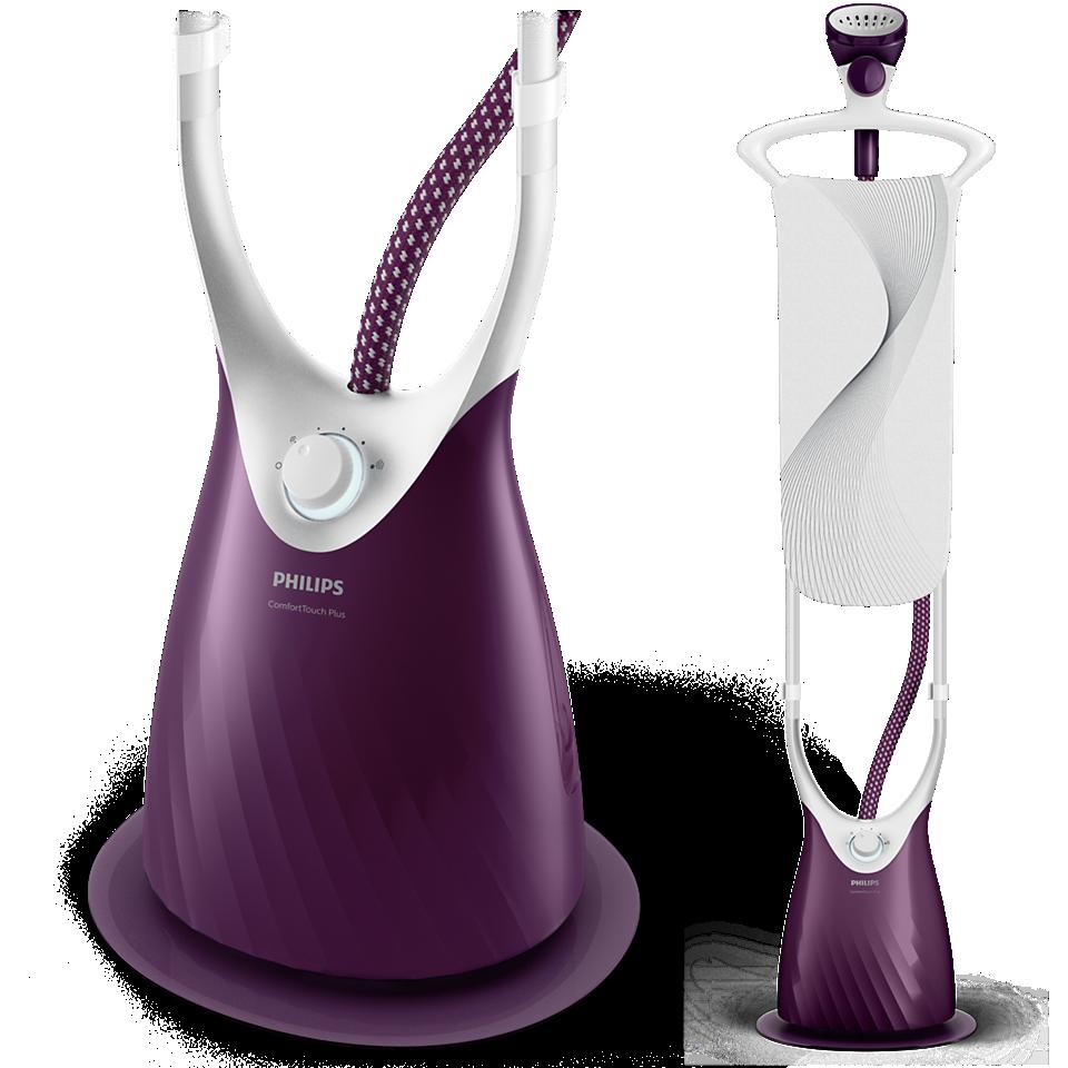 Philips ComfortTouch Plus Défroisseur GC558/30 FlexHead, MyEssence, planche StyleBoard, 2000W