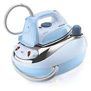 Pressurised ironing system