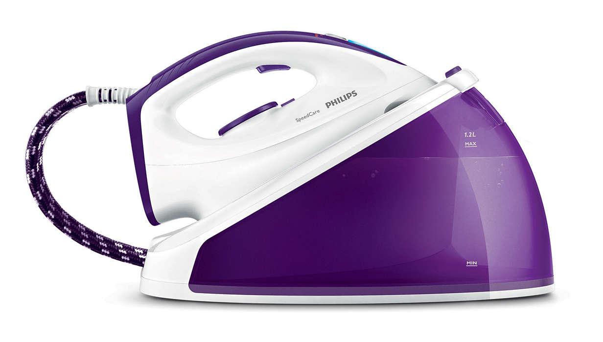 การรีดผ้าที่ง่ายดายและรวดเร็วยิ่งกว่า**