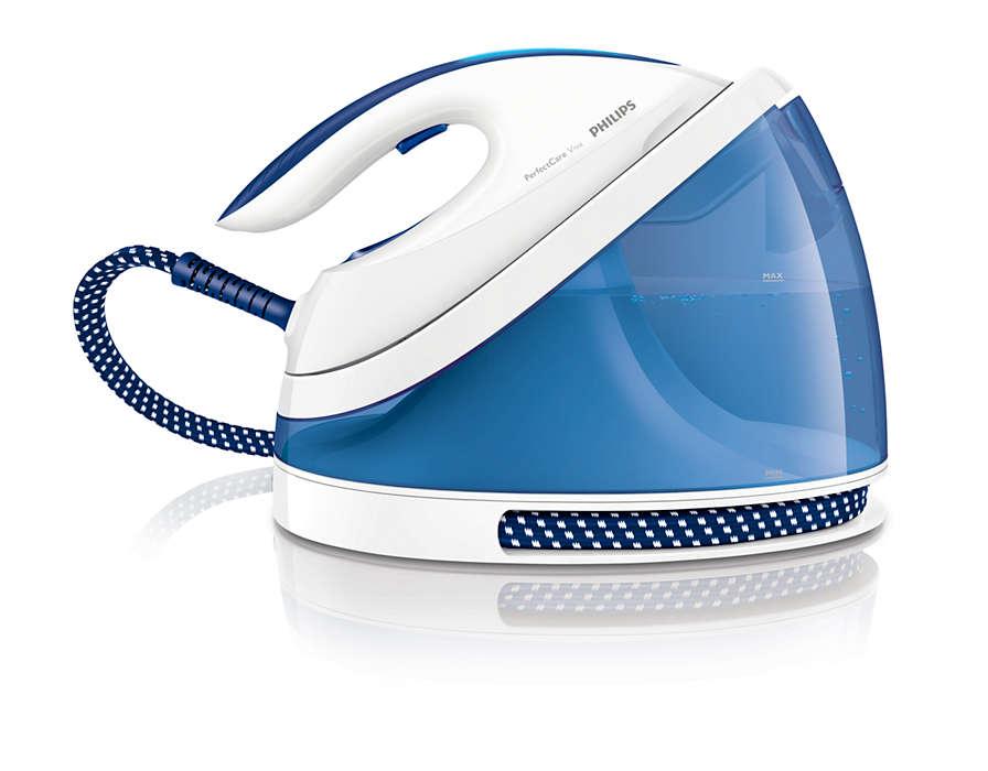 Πιο γρήγορο και εύκολο σιδέρωμα**