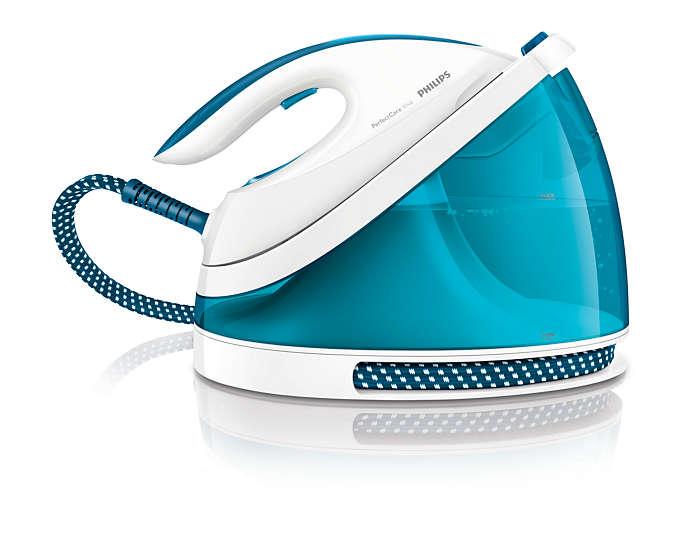 Ταχύτερο σιδέρωμα με διπλάσιο ατμό *