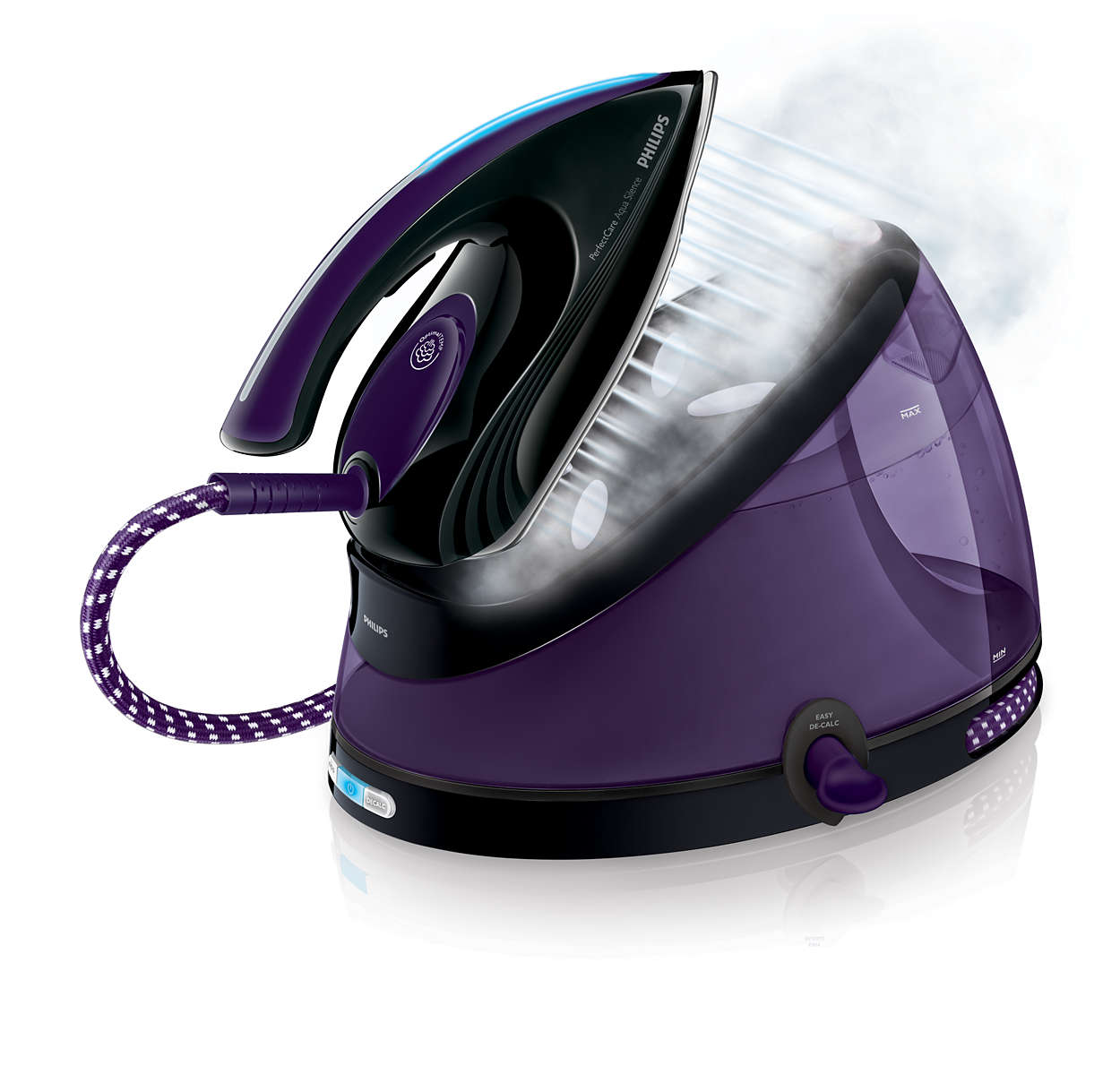 perfectcare aqua silence steam generator iron gc8650 80. Black Bedroom Furniture Sets. Home Design Ideas
