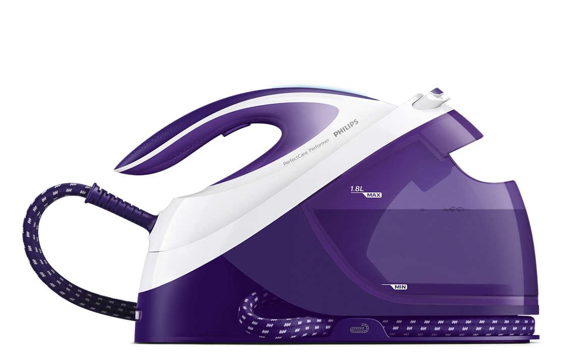 Εξαιρετικά γρήγορο σιδέρωμα